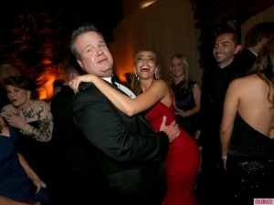 Eric Stonestreet and Sophia Vergara enjoying the festivities.