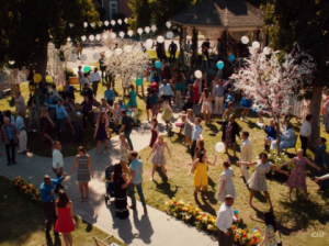 The town of Blue Bell in the finale